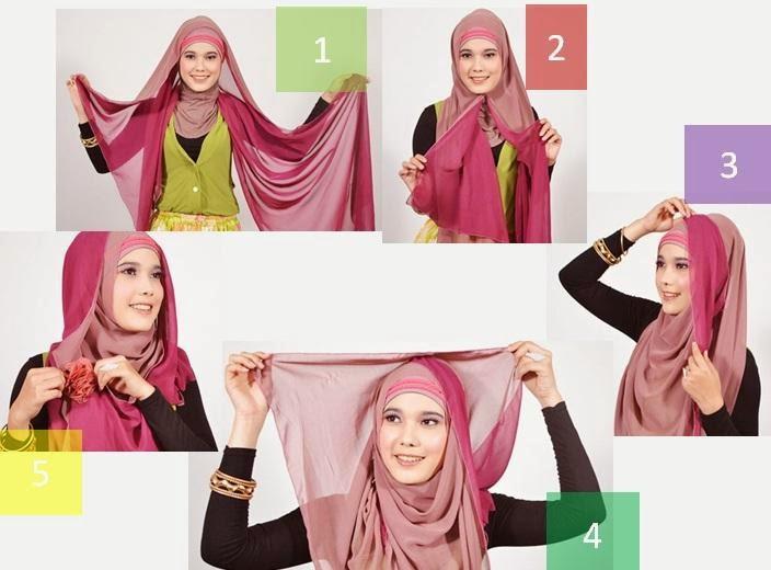 Tutorial Hijab Elegan
