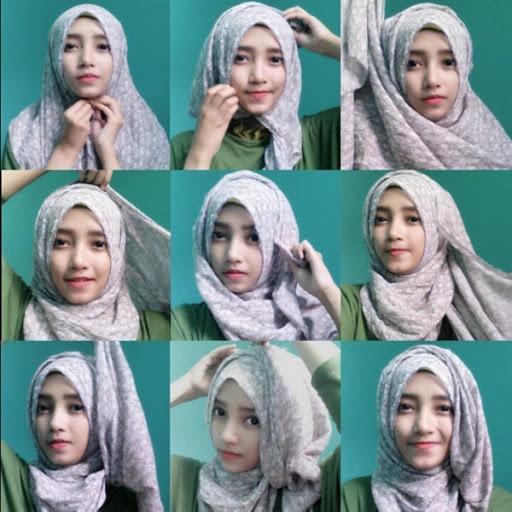 Tutorial Hijab Yang Stylish Namun Tidak Meninggalkan Kesan Simple