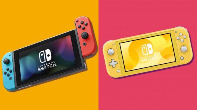 Inilah Perbedaan Nintendo Switch Dan Lite